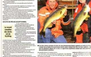 Quebec newspaper article about Merland Park