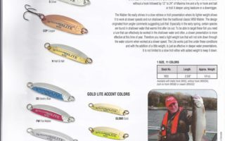 Williams Lure Catalog Featuring Kevin Lavers