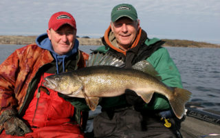 Monster Walleyes with Doug Stange of In-Fishermen TV