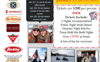 Merland Park's 3rd Annual Ice Fishing Derby