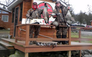 Duck, Geese and Walleye Caught week of December 20