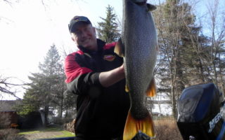 Spring Fishing Brings in Some Monster Lakers