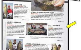 Bay of Quinte Makes it into Fall Issue of In-Fisherman
