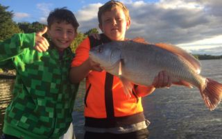 Junior Anglers in Training