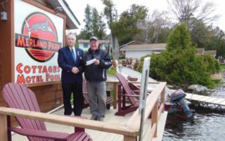 Merland Park Makes Annual Donation to Kiwanis