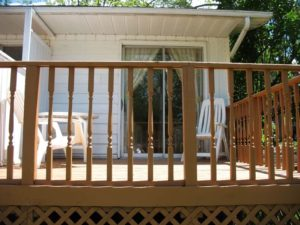 Private Deck for all 3 Units