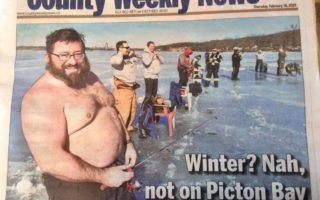 10th Annual Ice Fishing Derby Hits the News
