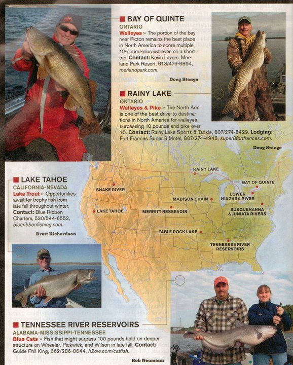 In-Fishermen Magazine Hot Spot – Merland Park