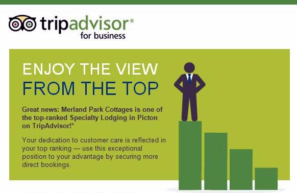 Trip Advisor gives Merland Park Top Ranking