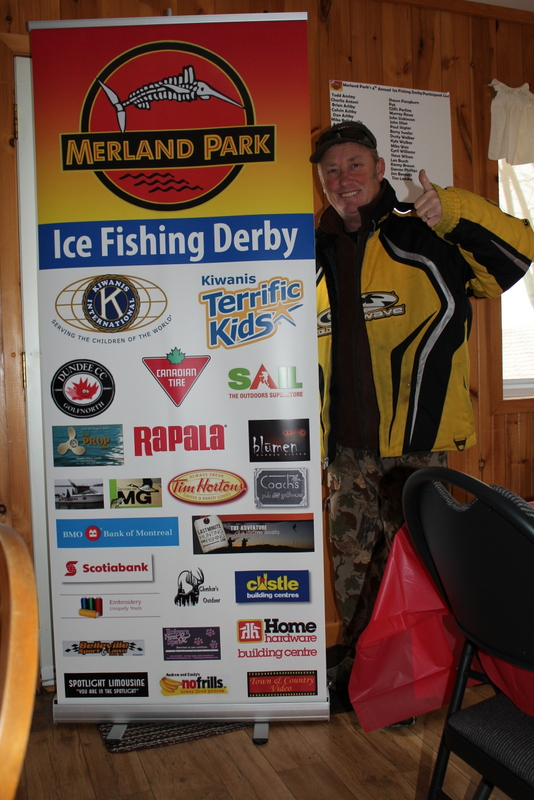 Bay of Quinte Ice Fishing Derby Video