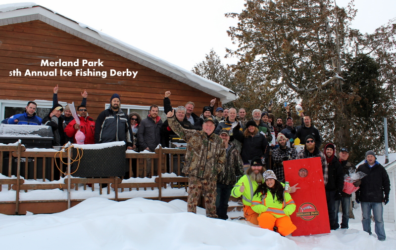 Merland Park 5th Annual Ice Fishing Derby a Huge Success Again this Year!