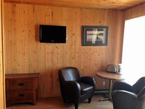 Motel #16 Sitting Area
