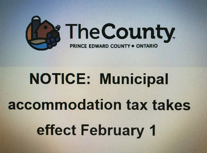 NEW Municipal Accommodation Tax Implemented