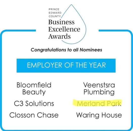 Merland Park Nominated For Employer of the Year